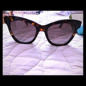 kate spade Krissy 52 mm sunglasses